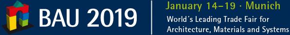 BAU 2019 - logo targów